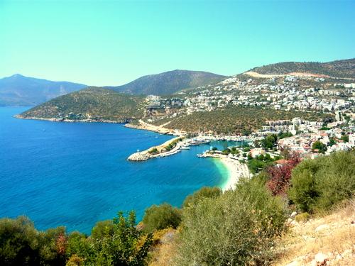 View of  Kalkan Habour