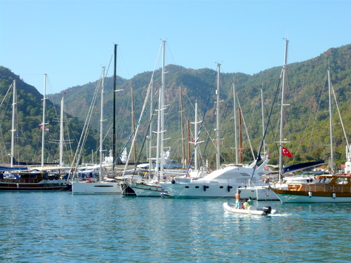 Yacht Marina Gocek Turkey