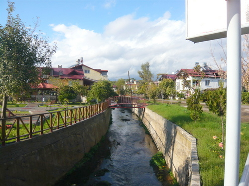 Village Centre Stream Ciftlik Turkey