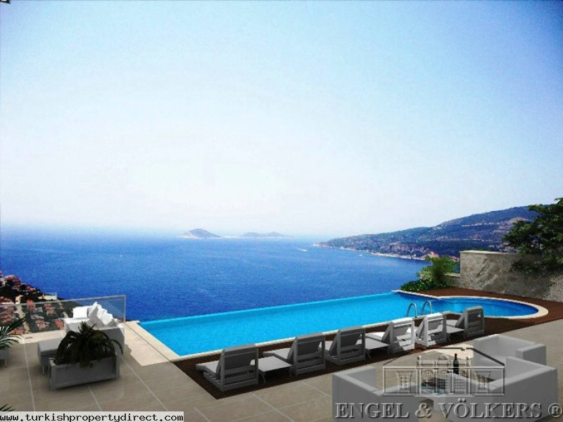 Luxurious Villa With Breathtaking Seaview - Kalkan
