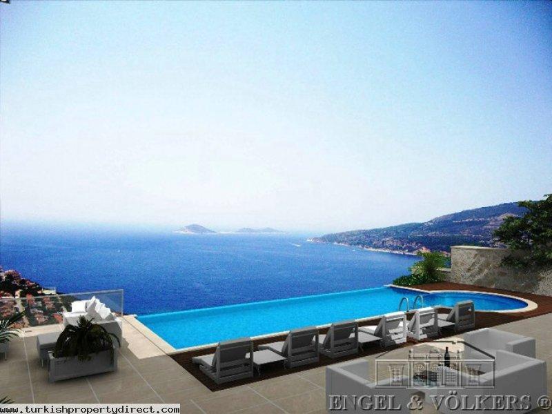 Luxurious Villa With Breathtaking Seaview - Kalkan